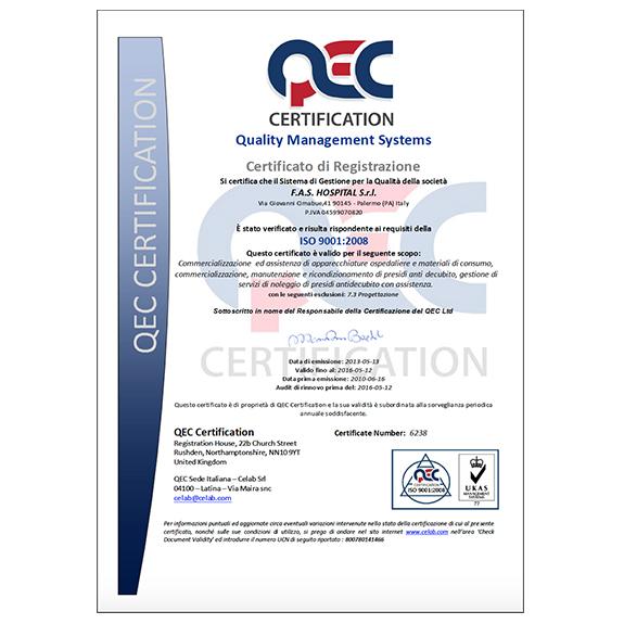 QEC Certificato
